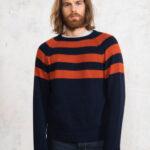 Blue / Orange Stripes