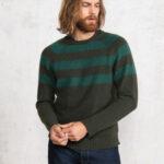 Ponderosa / Military Green Stripes